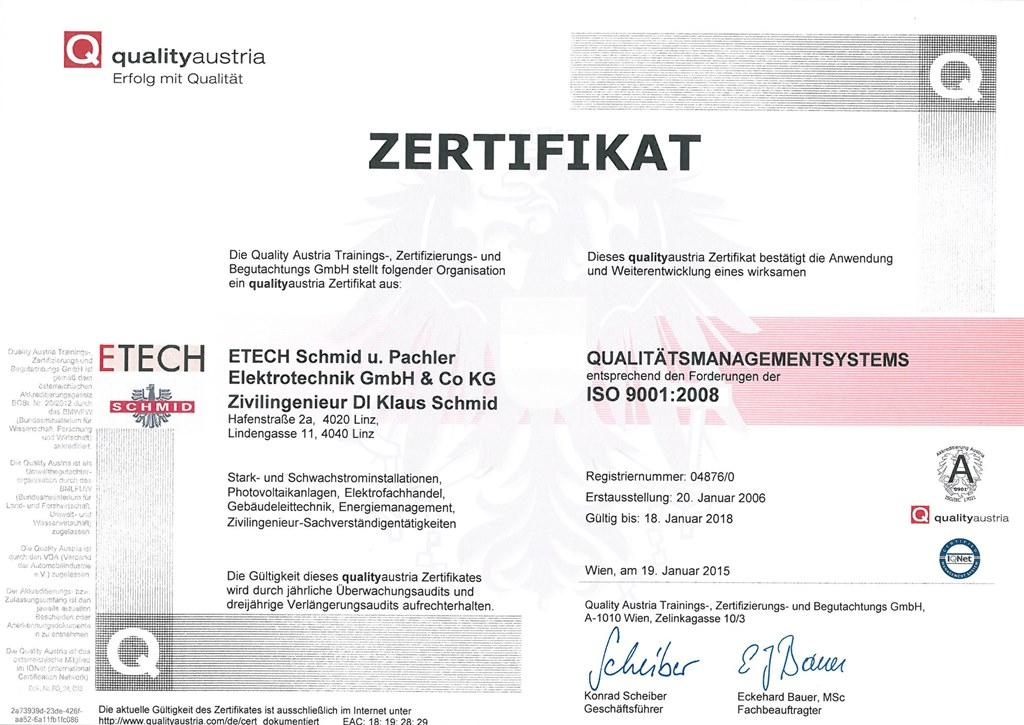 Zertifikate/Auszeichnungen   etech.at